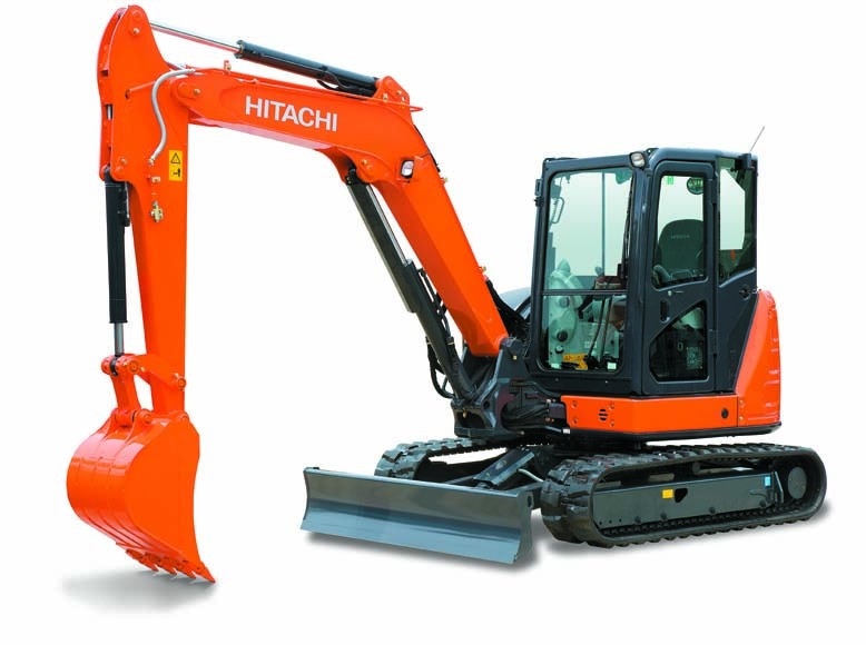 HITACHI ZX 55 mit Powertilt